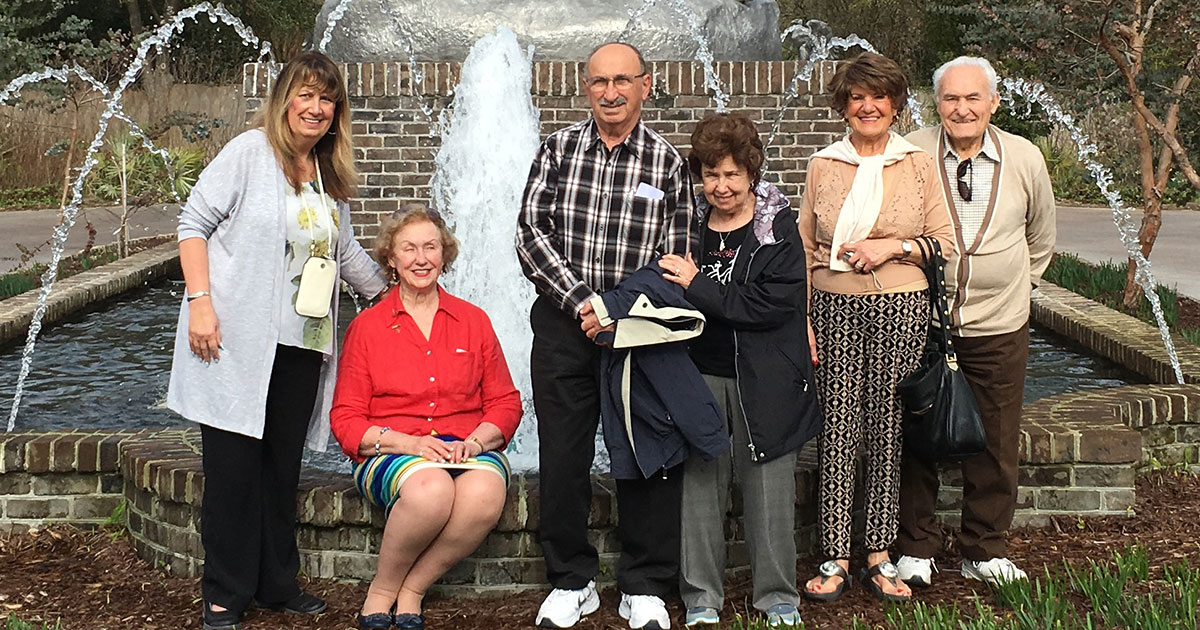 Senior Adults Traveling