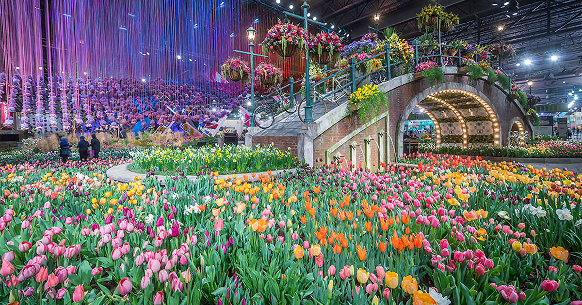 The Philadelphia Flower Show Group Tour By The Upper Class