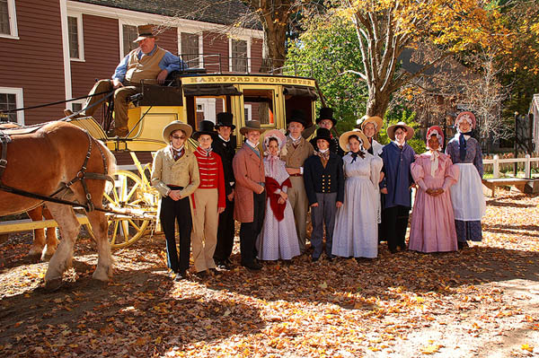 Old Sturbridge Village - 1800's Living History