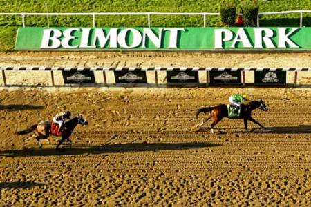 Opening Weekend at Belmont Race Track