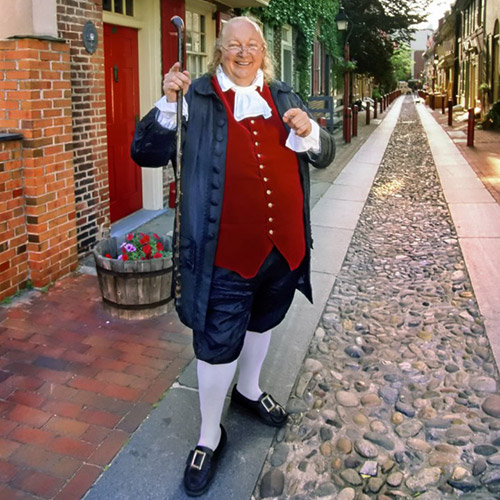 A Walk With Ben Franklin
