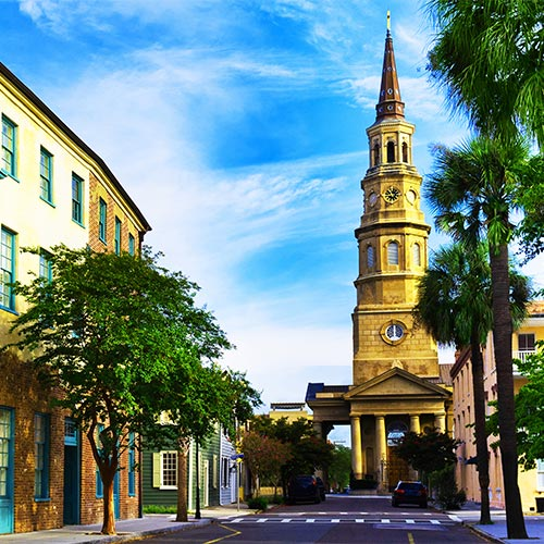 Charleston & Savannah New Itinerary