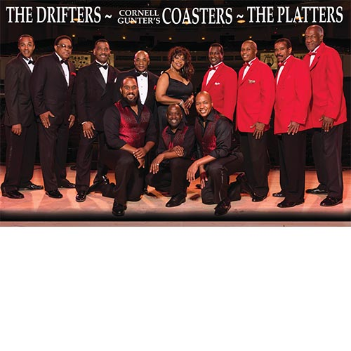 The Coasters, The Drifters & The Platters