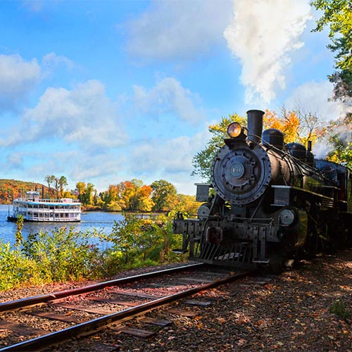 Essex Steam Train and Riverboat Cruise Lunch at the Griswold Inn
