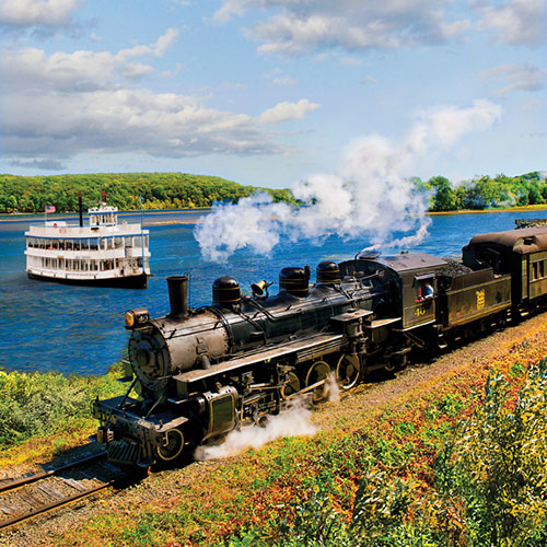 Essex Steam Train and Riverboat Cruise with Lunch at the Griswold Inn