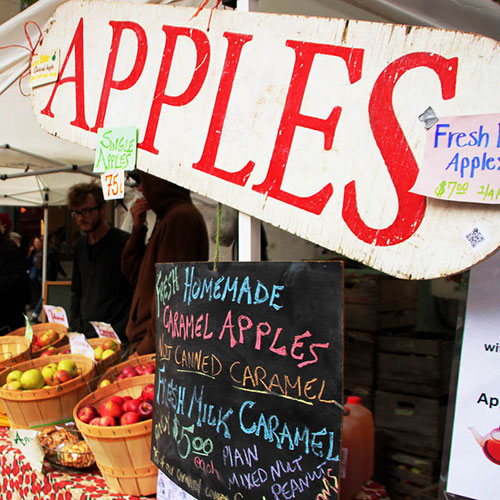 Fall Apple Festival at Pedler's Village
