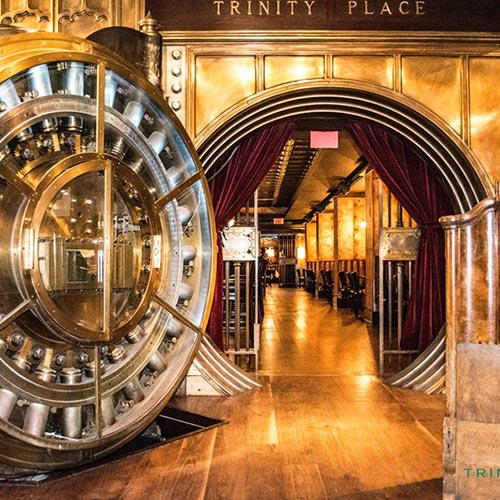 The Federal Reserve with Lunch Inside a Vault!