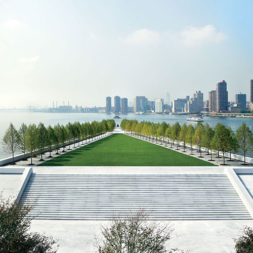 Four Freedoms Park A Monument to FDR