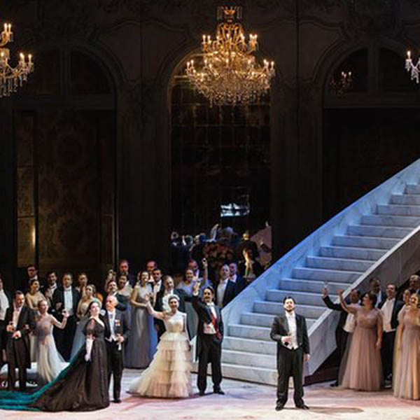 La Traviata at the Metropolitan Opera House at Lincoln Center