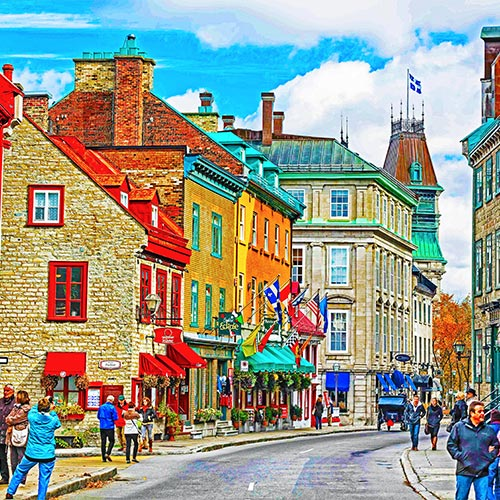 Magical Quebec City and Montreal
