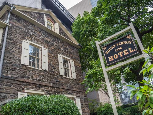The Mount Vernon Hotel 1800's Murder Mystery