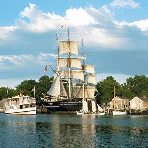 Mystic Seaport & Mystic Pizza