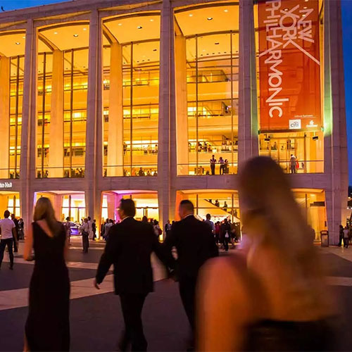 New Year's Eve at Lincoln Center