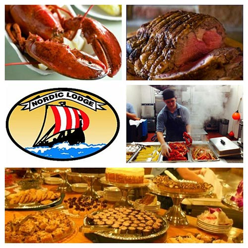 Nordic Lodge Seafood Feast with Newport Harbor Cruise