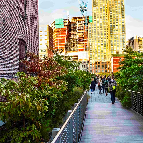 NYC Highline with Chelsea Market