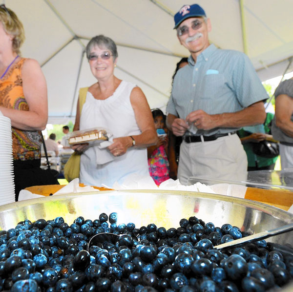 Peddler's Village Blueberry Festival
