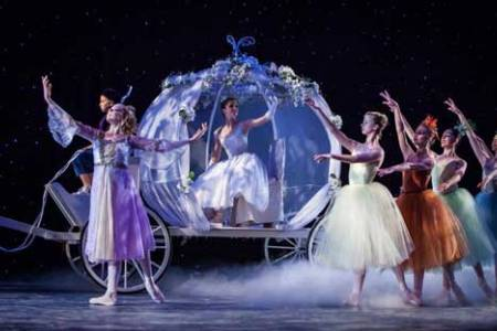 The Russian National Ballet Performs Cinderella