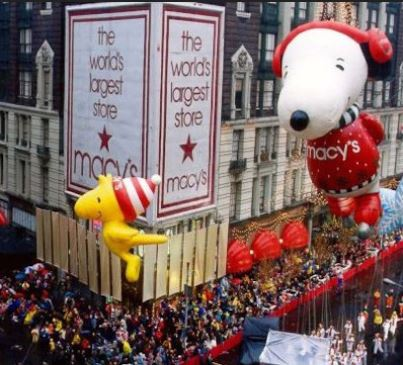 Thanksgiving Parade Balloon Blow Up