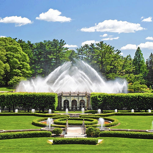 The Fountains At Longwood Gardens Group Tour By The Upper Class