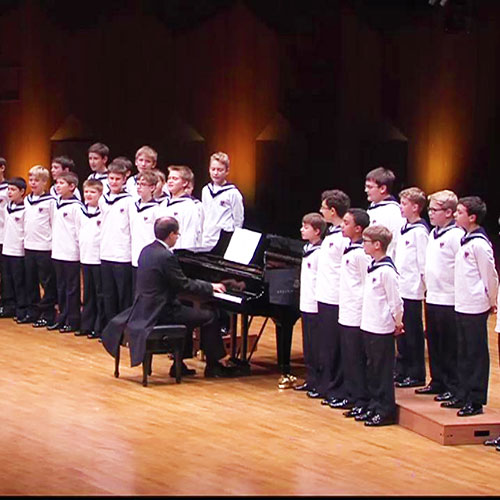 The Vienna Boys Choir at Carnegie Hall