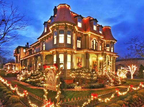 Victorian Christmas in Cape May, NJ