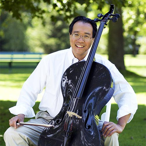 Yo-Yo Ma at Tangelwood