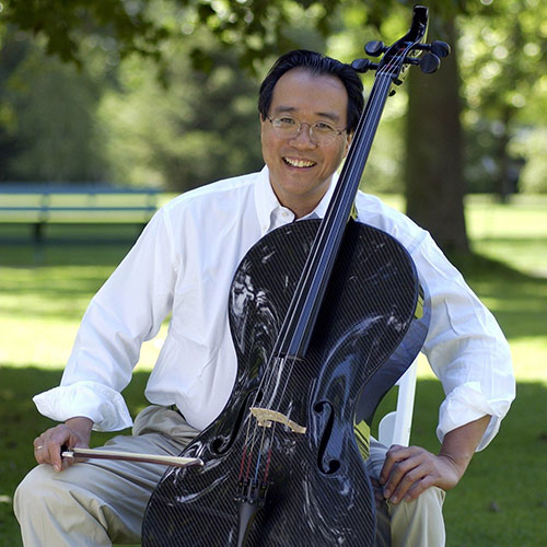 Yo-Yo Ma at Tanglewood