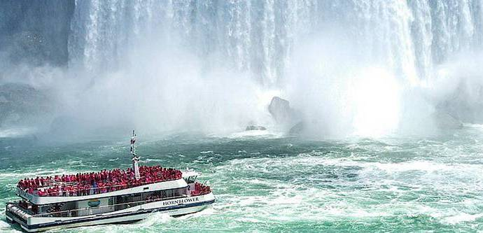 The Upper Class - Travel to the base of mighty Niagara Falls